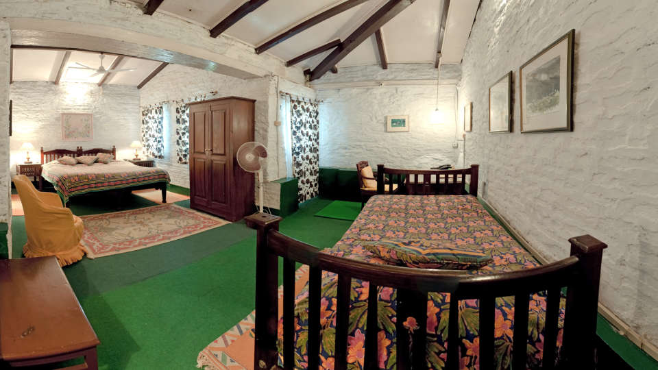 The Ramgarh Bungalows - 19th Century, Kumaon Hills Kumaon Lemon Suite The Ramgarh Bungalows above Nainital Uttarakhand