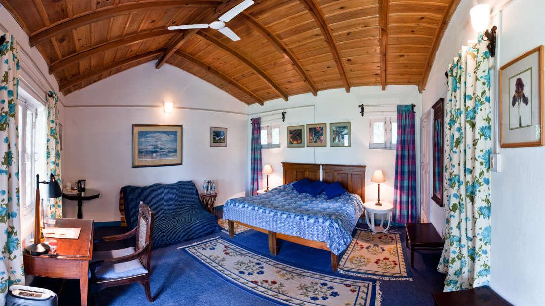 The Ramgarh Bungalows - 19th Century, Kumaon Hills Kumaon Irish Room The Ramgarh Bungalows above Nainital Uttarakhand