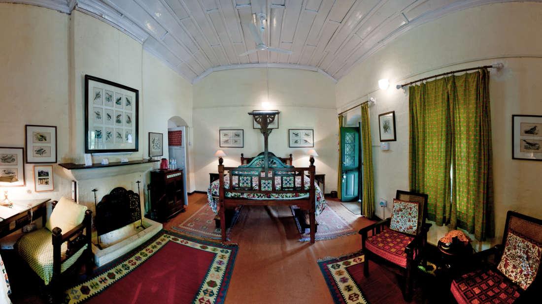 The Ramgarh Bungalows - 19th Century, above Nainital Kumaon Bird Suite The Ramgarh Bungalows above Nainital Uttarakhand 1