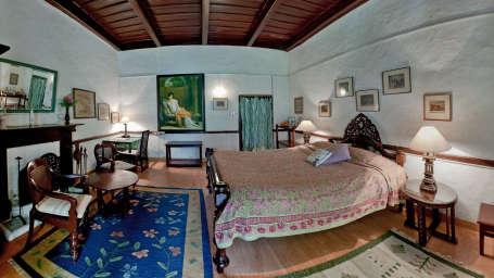 The Ramgarh Bungalows - 19th Century, Kumaon Hills Kumaon English Room The Ramgarh Bungalows above Nainital Uttarakhand