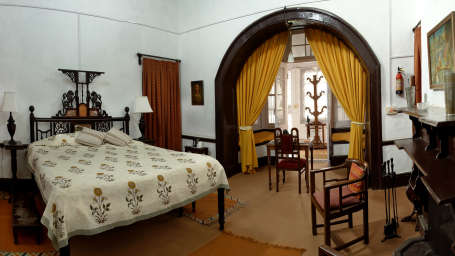The Ramgarh Bungalows - 19th Century, Kumaon Hills Kumaon Yellow Room The Ramgarh Bungalows Kumaon Hills