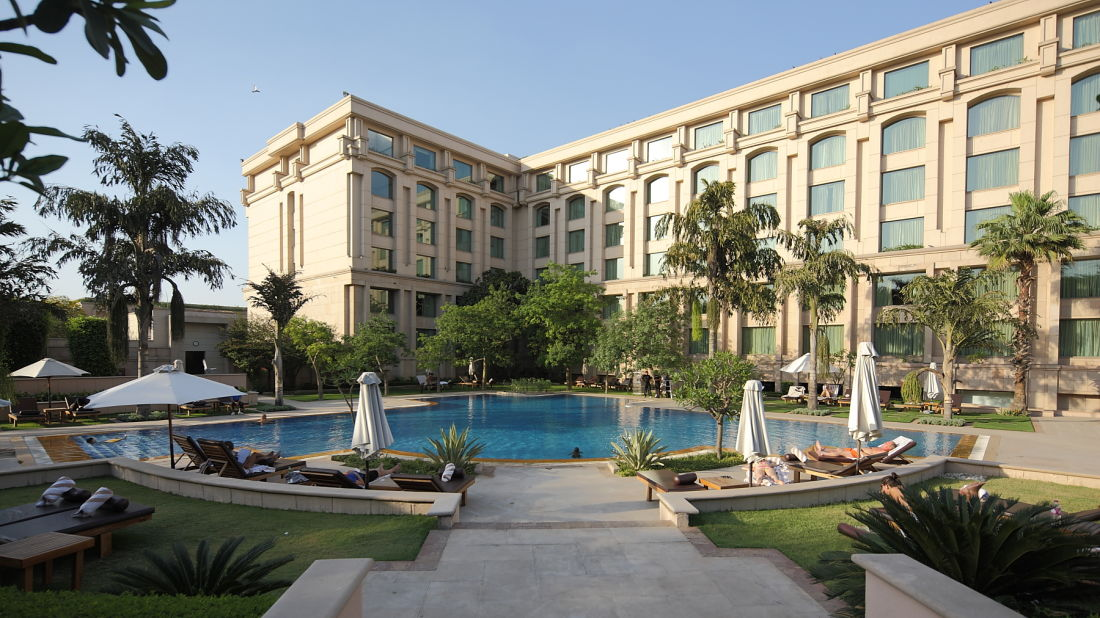 The Grand New Delhi New Delhi exterior the grand new delhi 5 star hotel in delhi