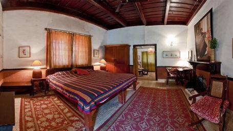 The Ramgarh Bungalows - 19th Century, Kumaon Hills Kumaon Kumaon Room The Ramgarh Bungalows above Nainital Uttarakhand