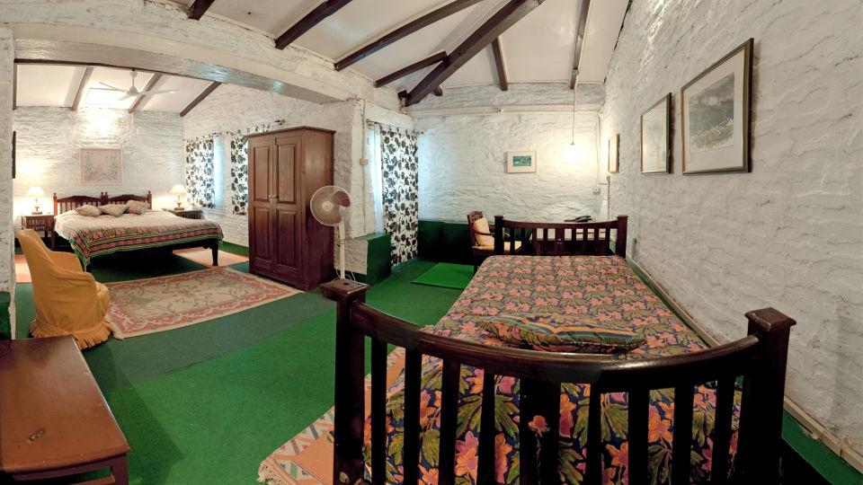 The Ramgarh Bungalows - 19th Century, Kumaon Hills Kumaon Lemon Suite The Ramgarh Bungalows above Nainital Uttarakhand
