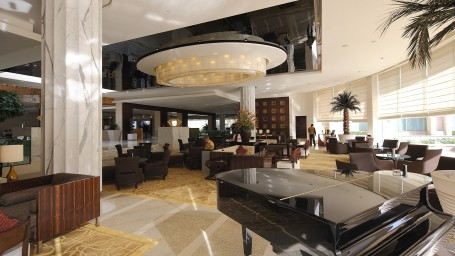 Crystal Lounge - Restaurants and Dining at The Grand Hotel New Delhi