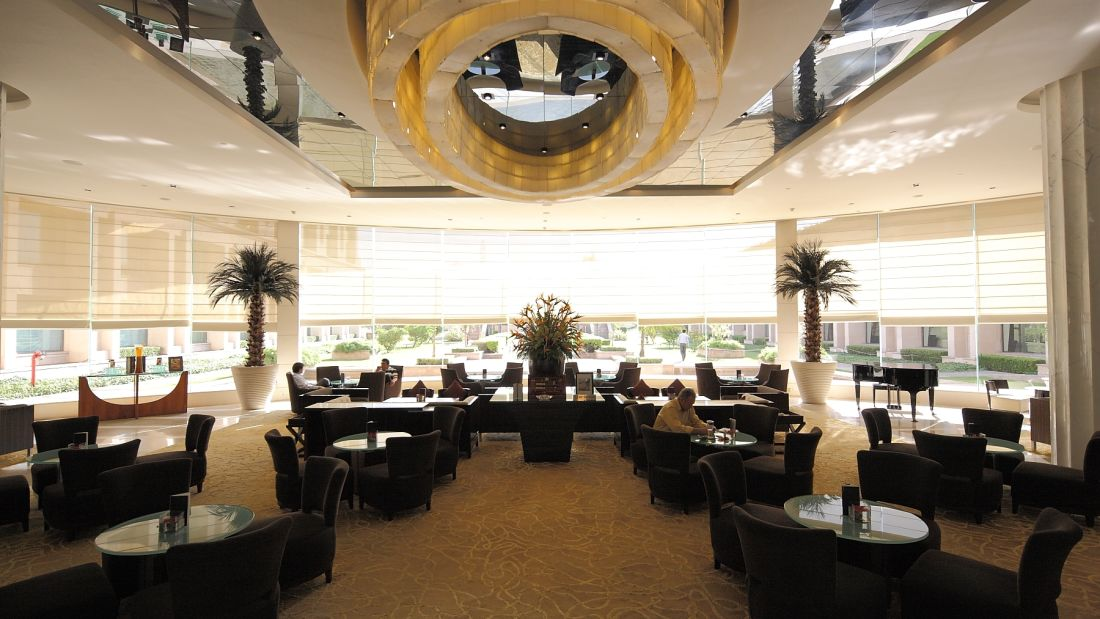 crystal lounge, the grand hotel new delhi, Hotel in Delhi-2