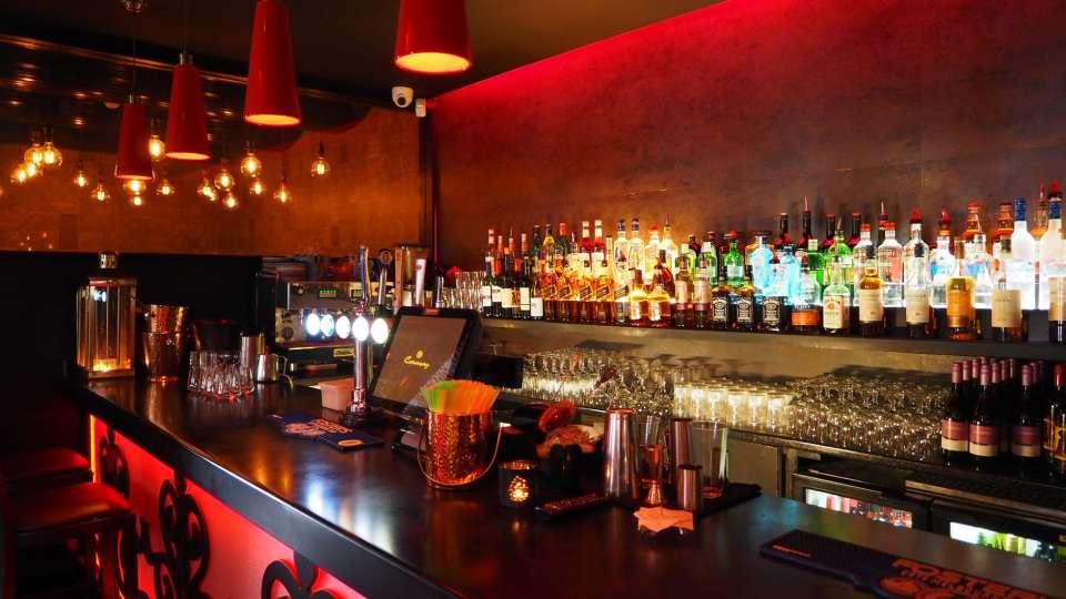 Bar near Crystal IT Park, Fuel bar, Indore hotel with bar