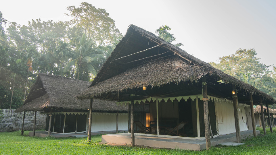 Air-conditioned Tented Cottage Facade, Barefoot at Havelock, Stay at Havelock, Luxury Resorts in Andaman