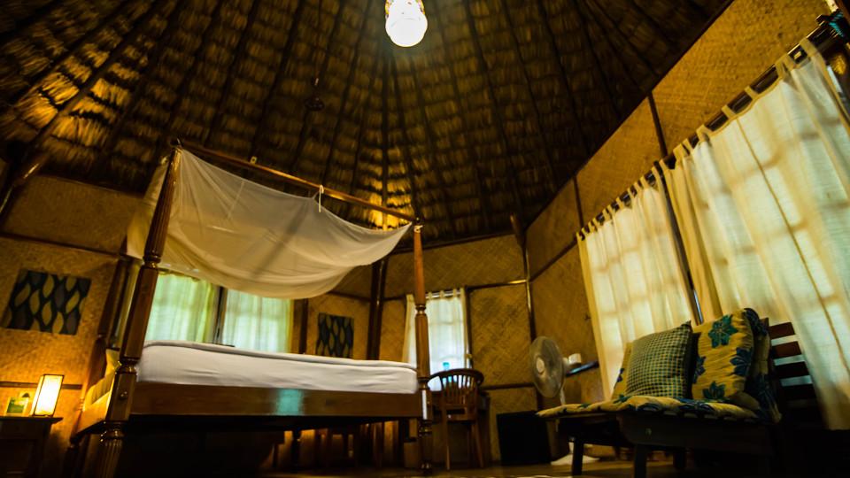 12 Accommodation Air-conditioned Nicobari Cottage Interior