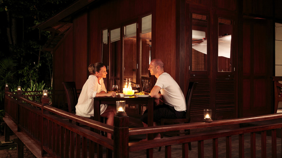 27 Experiences Romantic Dinner outside AC Andaman Villa