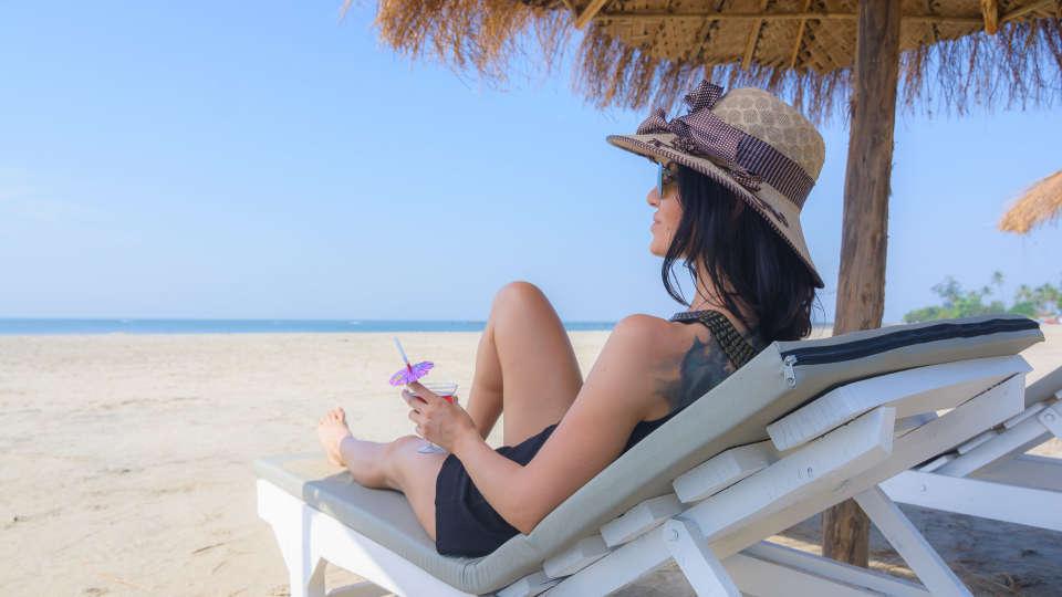 LaRiSa Beach Resort, Goa Goa LaRiSa Beach Resort Goa - Beach 2