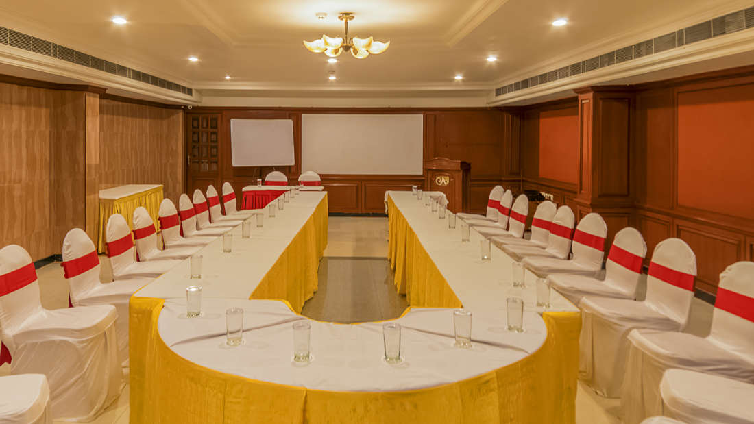 Hotel Annamalai International, Pondicherry Pondicherry SENATE HALL Hotel Annamalai International Pondicherry 2