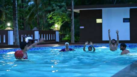 Facilities parampara resort spa coorg kushalnagar hotel Hotels in coorg with swimming pool