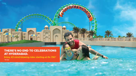 Wonderla Amusement Parks & Resort  hyderabad Offer