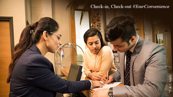 Check-in and Check out at Evoke Hotels