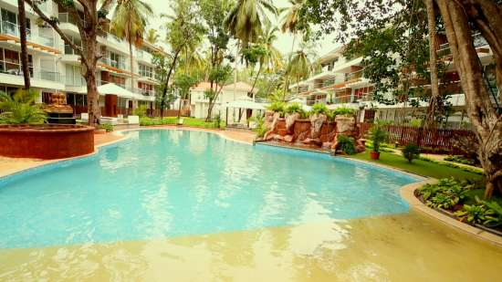 The Eternal Wave, Calangute, Goa Goa Swimming Pool 3