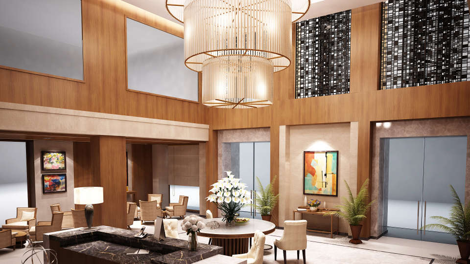 Lobby at Golden Sarovar Portico Amritsar 2