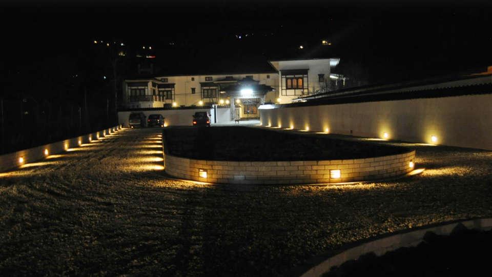Driveway at Tashi Phuntshok Hotel Paro