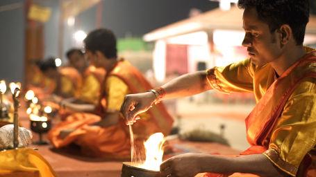 Evening Aarti at Dashashwamedh Ghat 1
