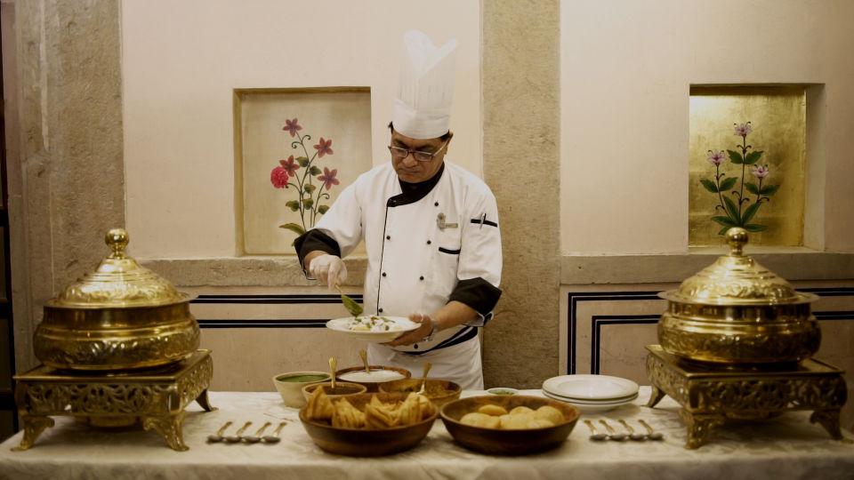 29. Chef preparing Local delicacies