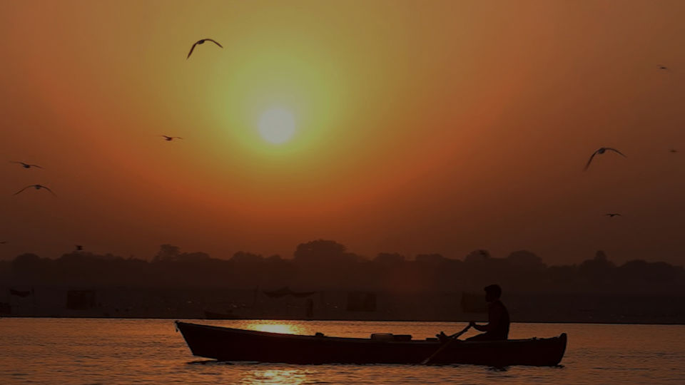 Sunrise view from Ghat