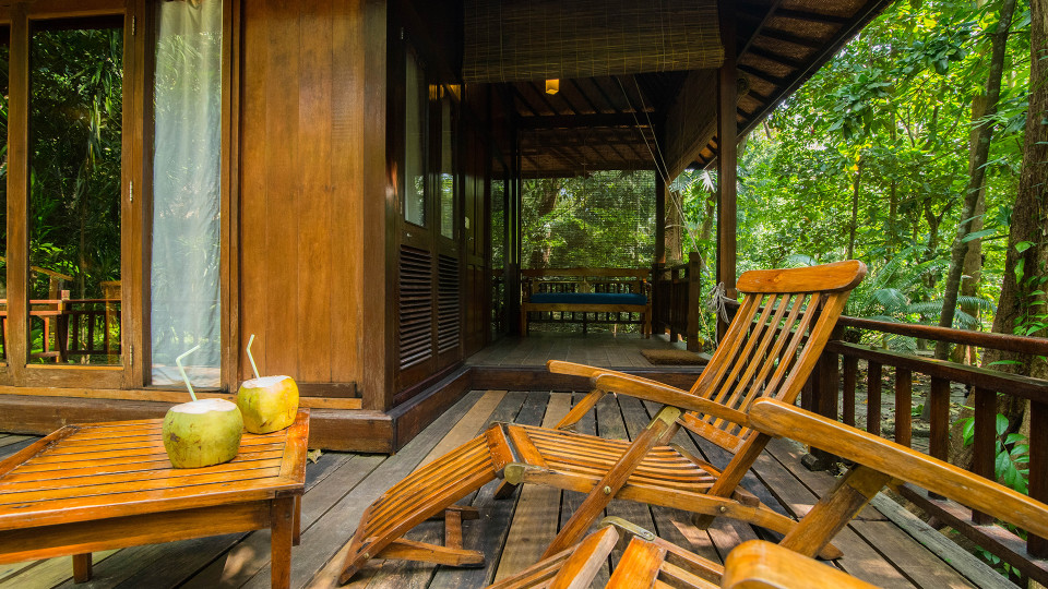 Air-conditioned Andaman Villa Sun Deck, Barefoot at Havelock, Stay at Havelock, Luxury Resorts in Andaman