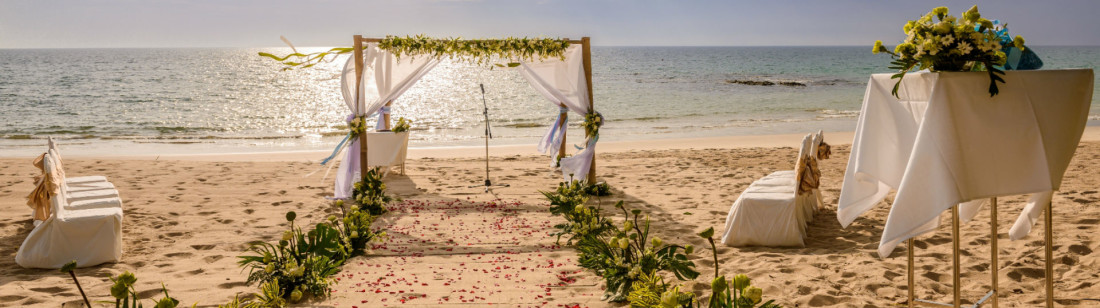 Weddings at Natai beach resort in phang-nga