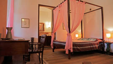 Christianus Septimus Room, The Bungalow on the Beach, Tranquebar Hotel Rooms 1