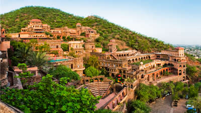 Facade Premises Neemrana Fort Palace15
