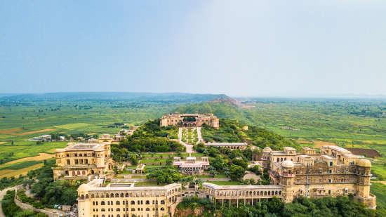Facade_ Facade_Tijara Fort Palace_Hotel In Rajasthan_ Palace Hotel In Rajasthan 29