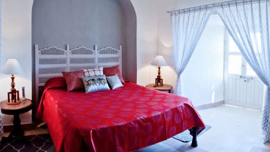 Tijara Fort-Palace - 19th Century_ Alwar Alwar Rasa Mahal Facade_Tijara Fort Palace_Hotel In Rajasthan