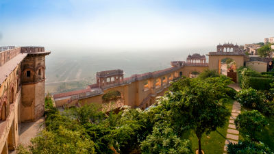 Facade_Tijara Fort Palace_Hotel In Rajasthan 14
