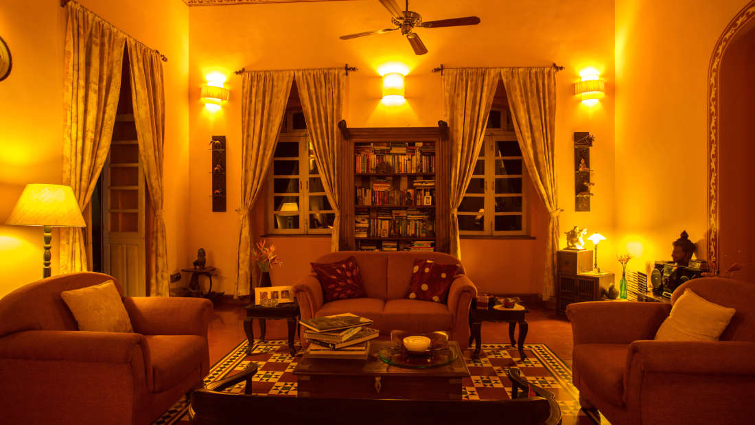 Arco Iris - 19th Century, Curtorim Goa Siting room Arco Iris Goa 6