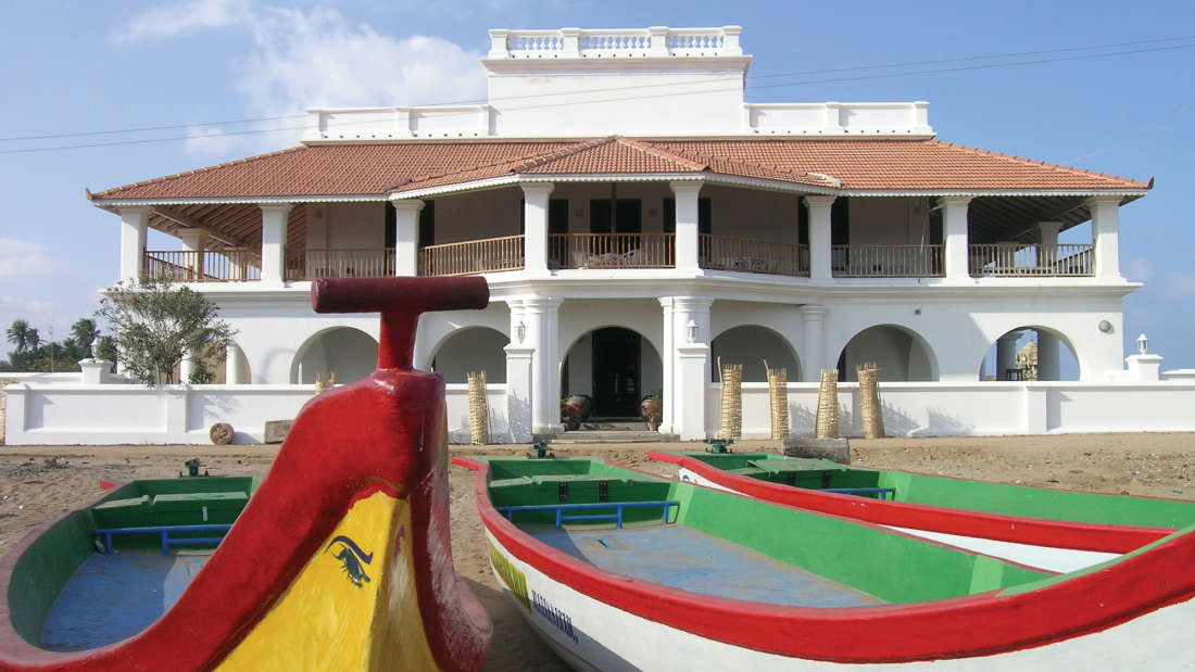 Hotel In Tamil Nadu,The Bungalow on the Beach Tranquebar, Best Hotel in Nagapattinam 8
