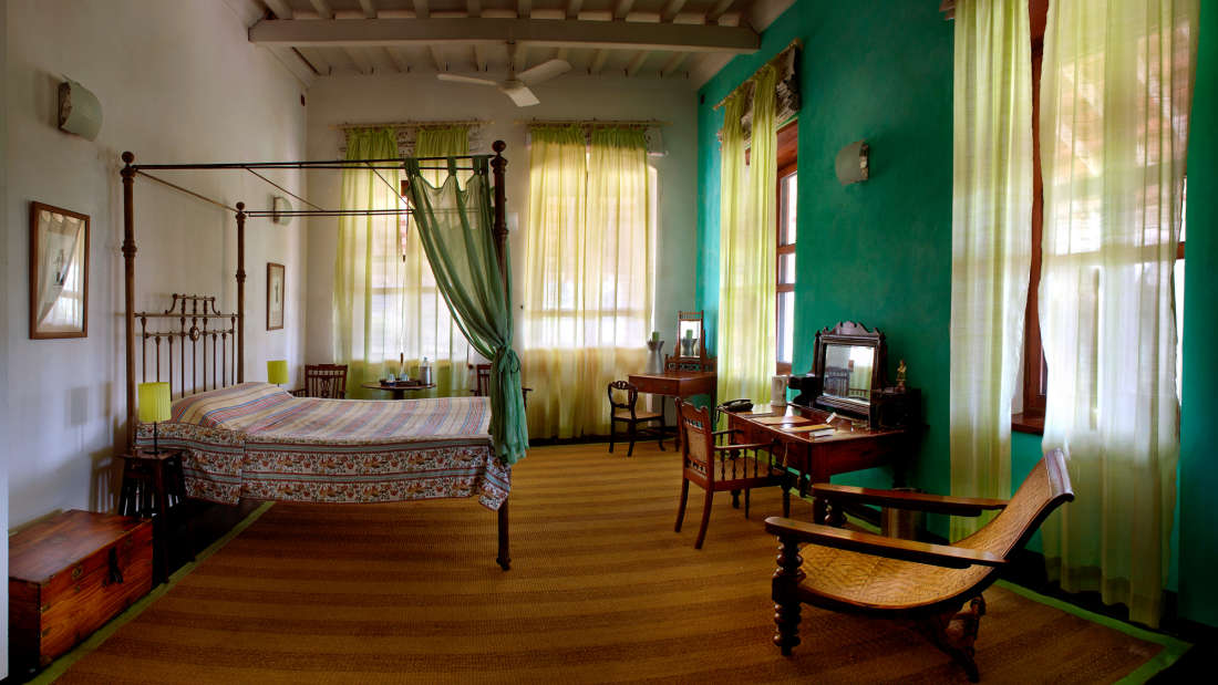 Princess Louise Room, The Bungalow on the Beach Tranquebar, Hotel Rooms Near Danish Fort 12