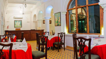 Dining, The Baradari Palace Patiala Punjab Heritage Hotel in Patiala