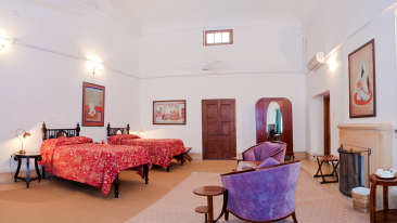 The Baradari Palace - 19th Century, Patiala Patiala Maharaja Karam Singh The Baradari Palace Patiala Punjab