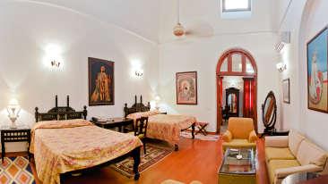The Baradari Palace - 19th Century, Patiala Patiala Maharaja Rajinder Singh The Baradari Palace Patiala Punjab
