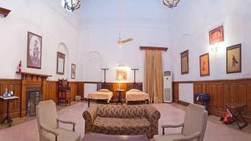 The Baradari Palace - 19th Century, Patiala Patiala Raja Amar Singh The Baradari Palace Patiala Punjab