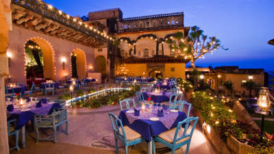 Holi Kund, Neemrana Fort Palace, restaurants in Rajasthan
