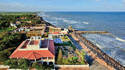 Hotel In Tamil Nadu,The Bungalow on the Beach Tranquebar, Best Hotel in Nagapattinam 7