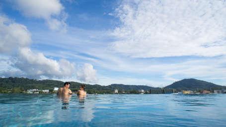 the Moro Pool Hotel Panphuree Residence Phuket Hotels