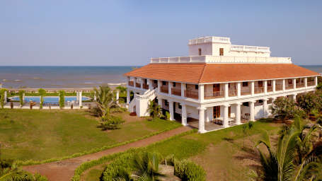 Facade,The Bungalow on the Beach Tranquebar, Best Hotel in Nagapattinam