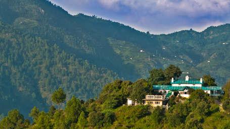 The Ramgarh Bungalows - 19th Century, above Nainital Kumaon Facade The Ramgarh Bungalows above Nainital Uttarakhand 21