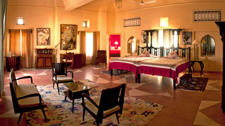 Tijara Fort-Palace - 19th Century, Alwar Alwar Anju Mahal Tijara Fort-Palace Alwar Rajasthan