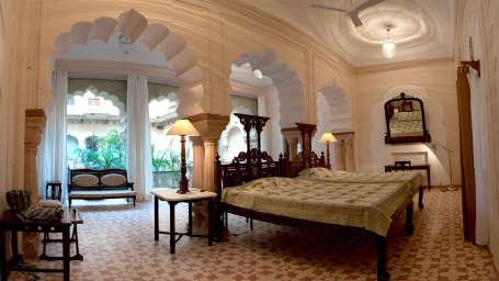 Tijara Fort-Palace - 19th Century, Alwar Alwar Bharti Mahal Tijara Fort-Palace Alwar Rajasthan