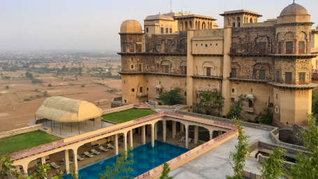 Tijara Fort-Palace - 19th Century, Alwar Alwar Tijara Fort-Palace Alwar Rajasthan 16