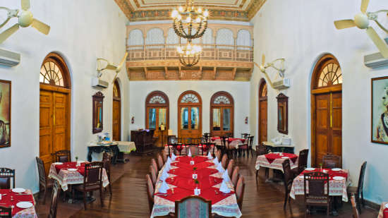 Restaurant, The Baradari Palace Patiala, Restaurant in Patiala