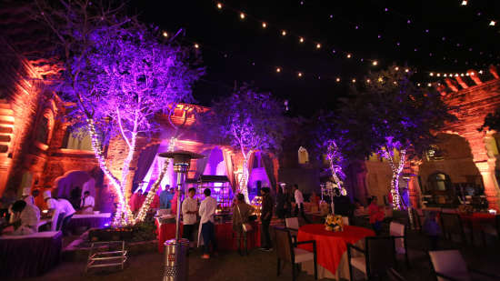Destination weddings in Rajasthan at Tijara Fort-Palace, Alwar Hotels 22