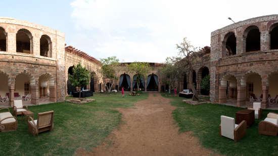 Tijara Fort-Palace - 19th Century, Alwar Alwar Mardana Mahal Tijara Fort-Palace Alwar Rajasthan
